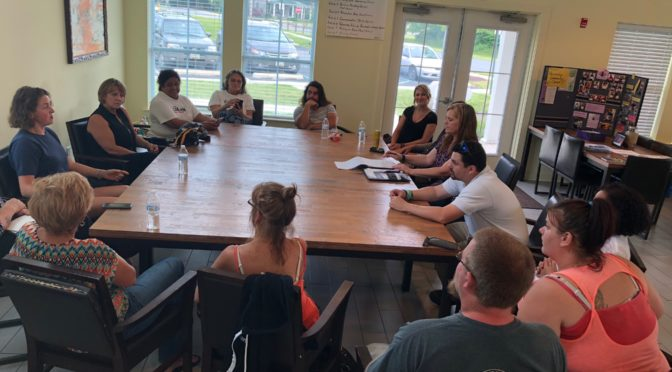 5 Area Residents Attend Cecilton Recovery Town Hall