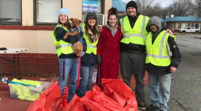Elkton Adopt-A-Hwy Quarterly Clean Up