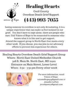 Overdose Death Grief Group Cecil County